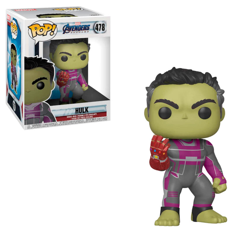 Funko POP o Figura POP Marvel Avengers Endgame Hulk 15cm