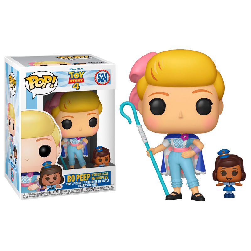 Figura POP Disney Toy Story 4 Bo Peep with Officer McDimples