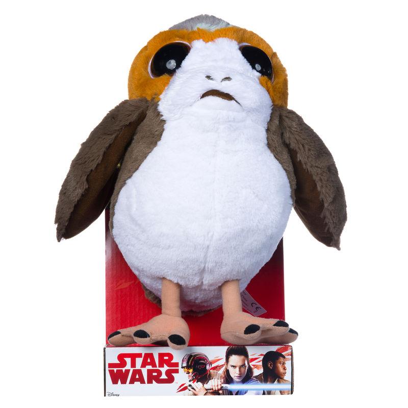 Peluche Porg Star Wars 25cm
