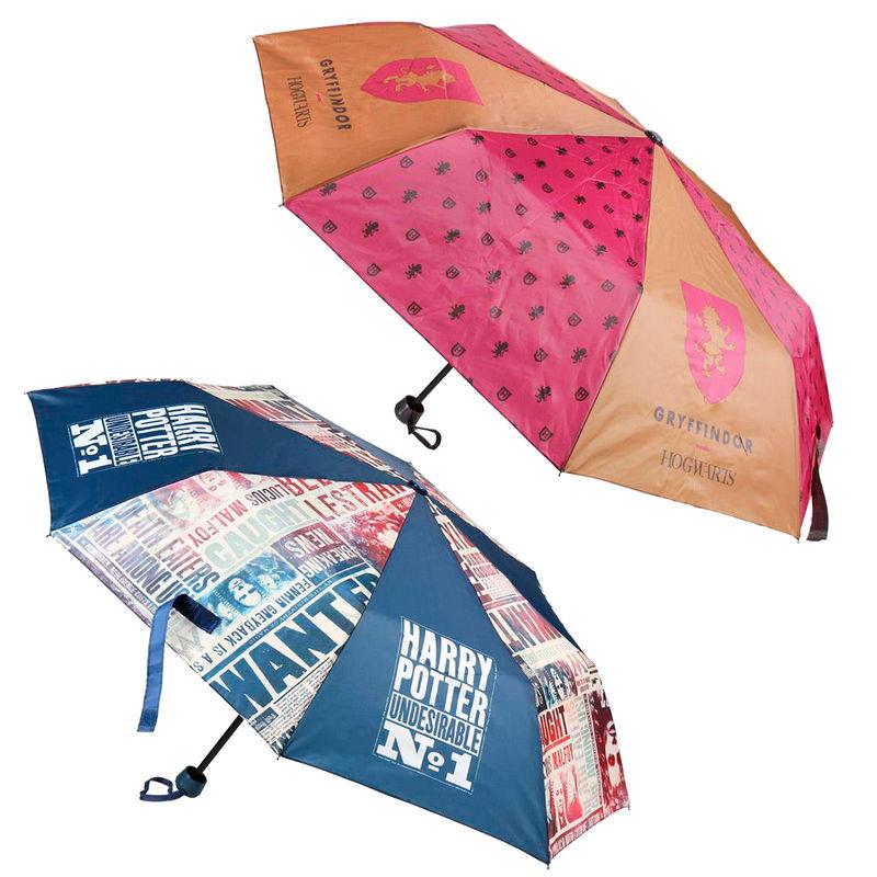 Paraguas manual plegable Harry Potter 50cm surtido 18427934295118