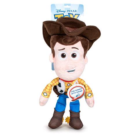 Peluche Woody Toy Story 4 Disney Pixar 30cm con sonidos en Español