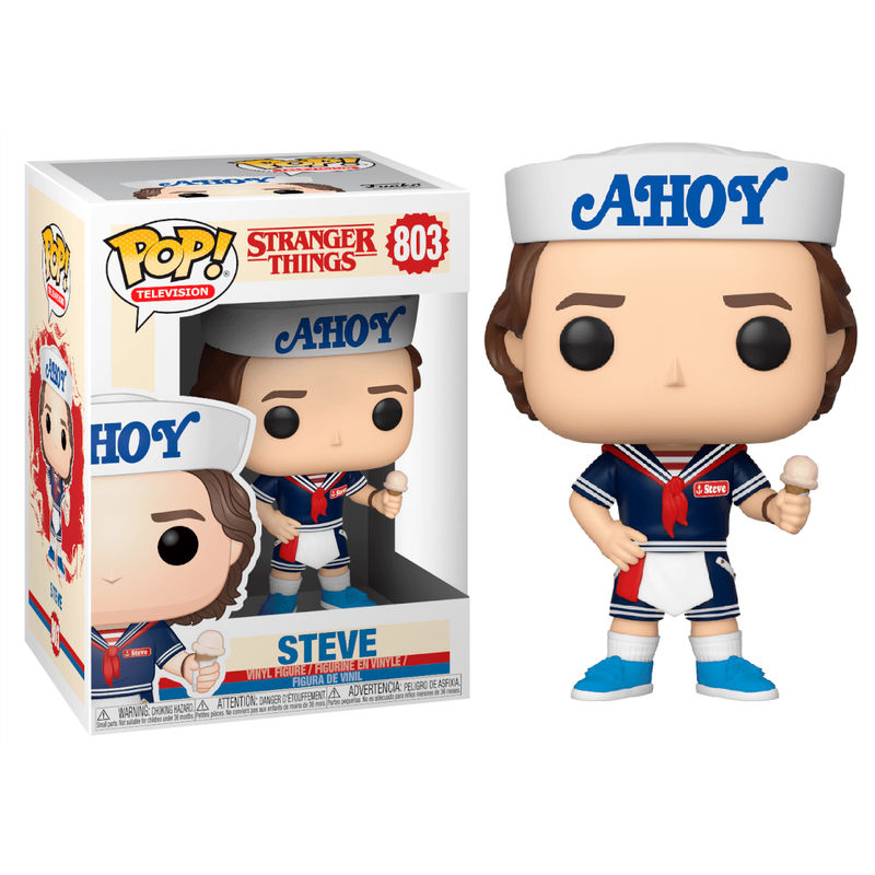 STEVE, AHOY, POP FUNKO, STRANGER THINGS, NETFLIX
