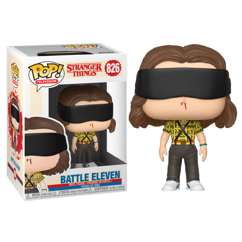 Funko POP o Figura POP Stranger Things 3 Battle Eleven (ONCE)