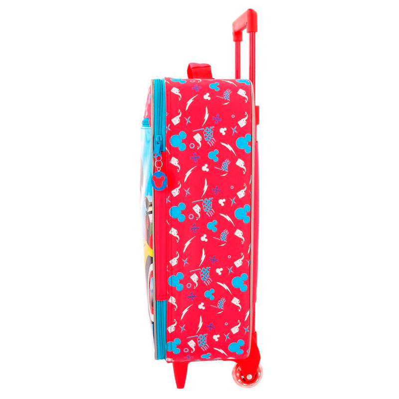 Maleta trolley Lets Roll Mickey Disney 50cm