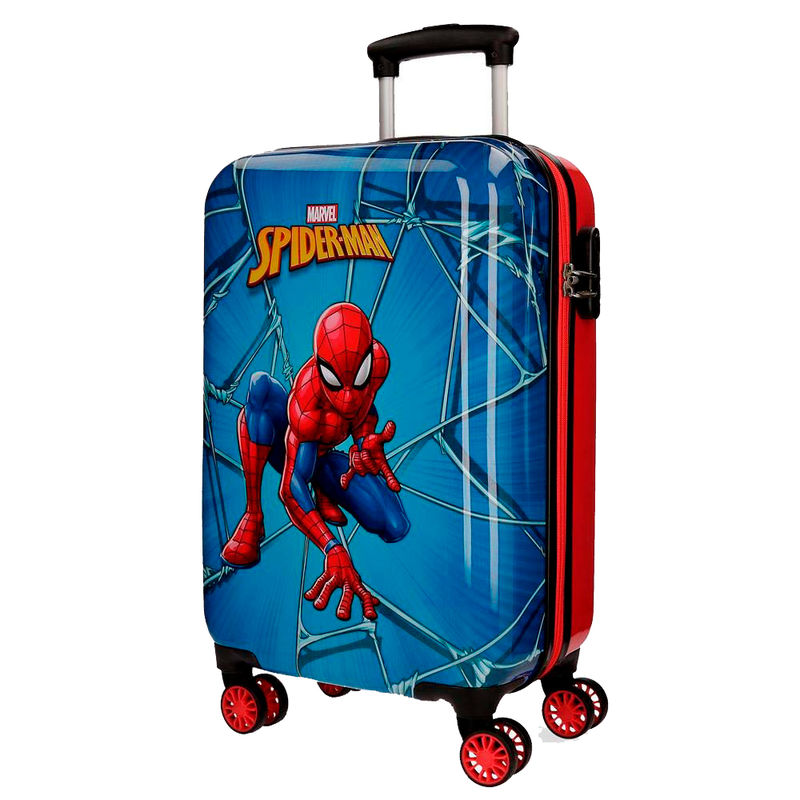 Maleta trolley ABS Spiderman Marvel 4r 55cm