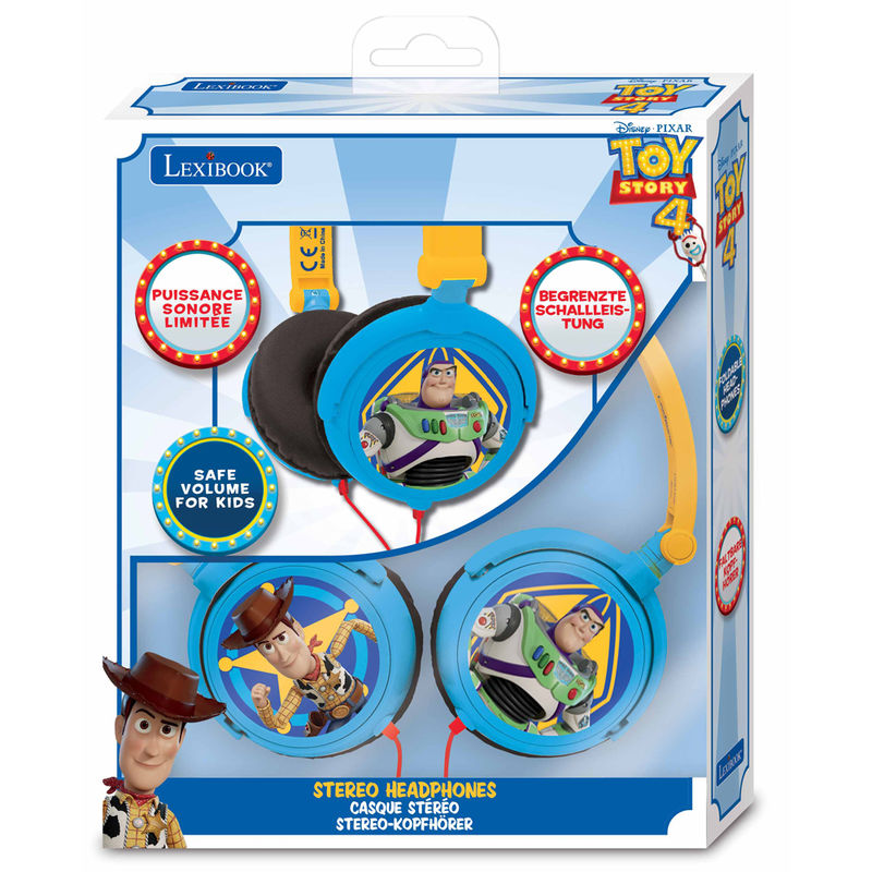 Cascos Toy Story 4 Disney estereo 3380743076508