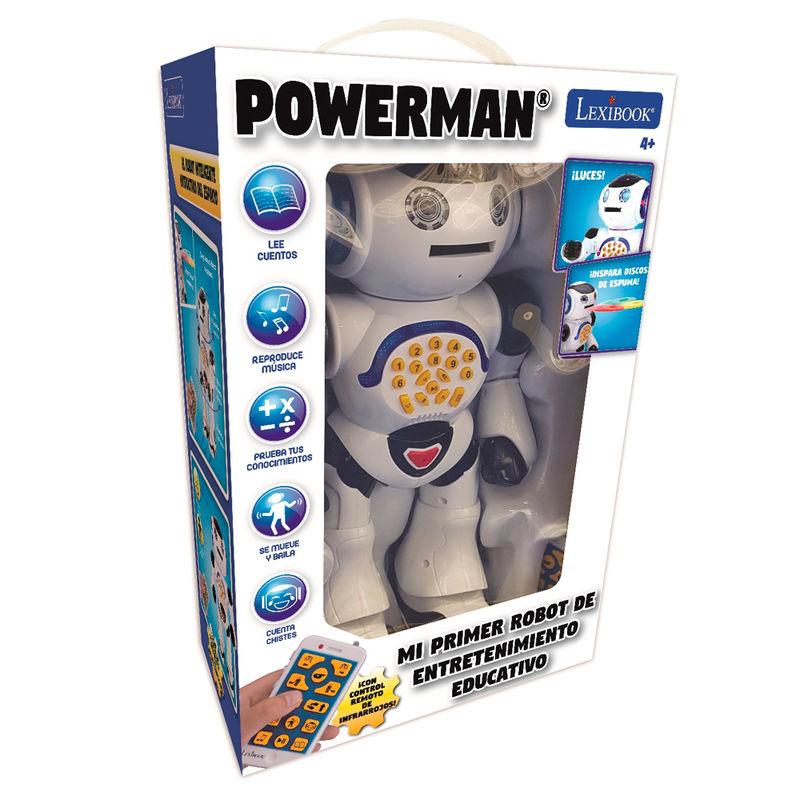 Robot interactivo Powerman 3380743073613