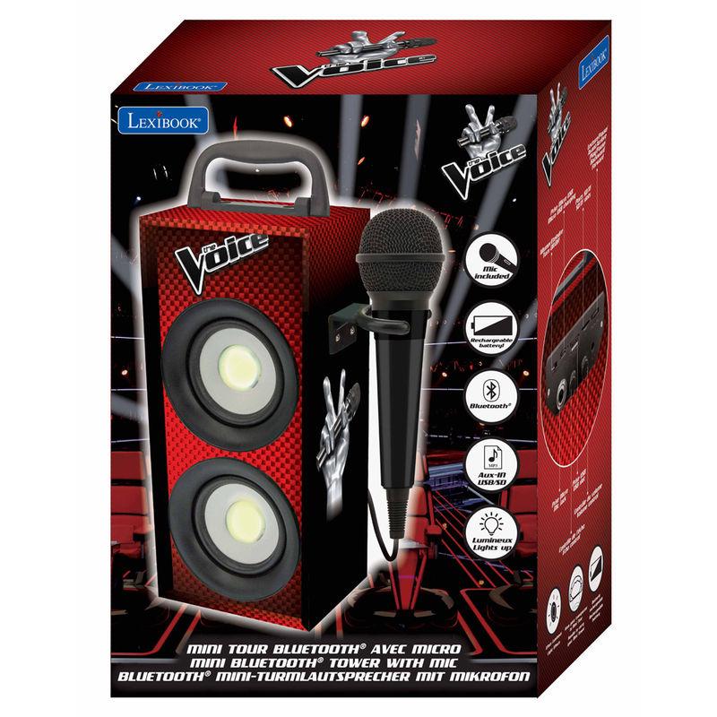 Mini torre bluetooth La Voz con microfono 3380743071633