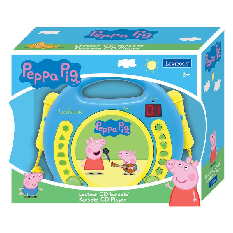 Reproductor CD Peppa Pig con microfonos 3380743057927