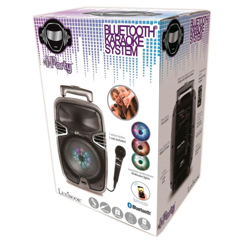 Altavoz karaoke iParty bluetooth 3380743066639