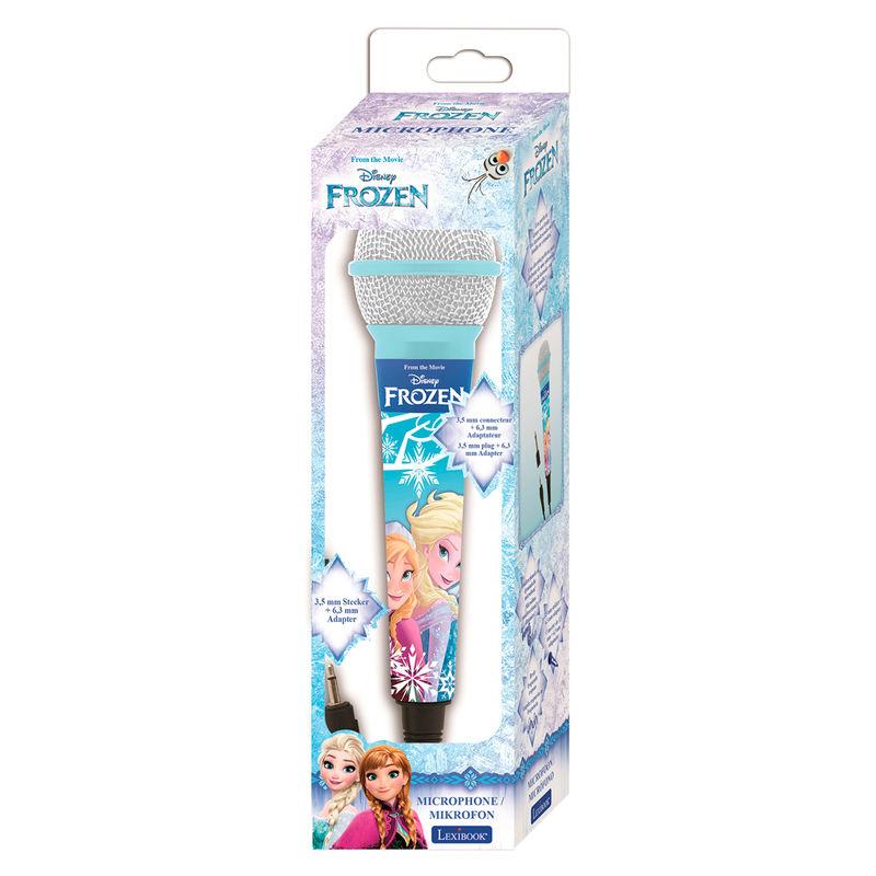 Microfono Frozen Disney 3380743048031