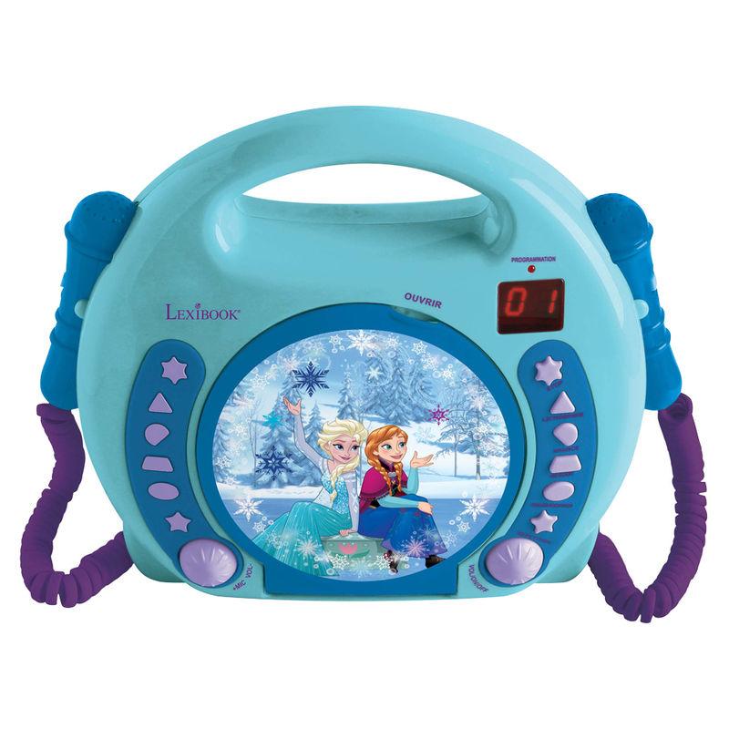 Reproductor CD Frozen Disney con microfonos 3380743063430