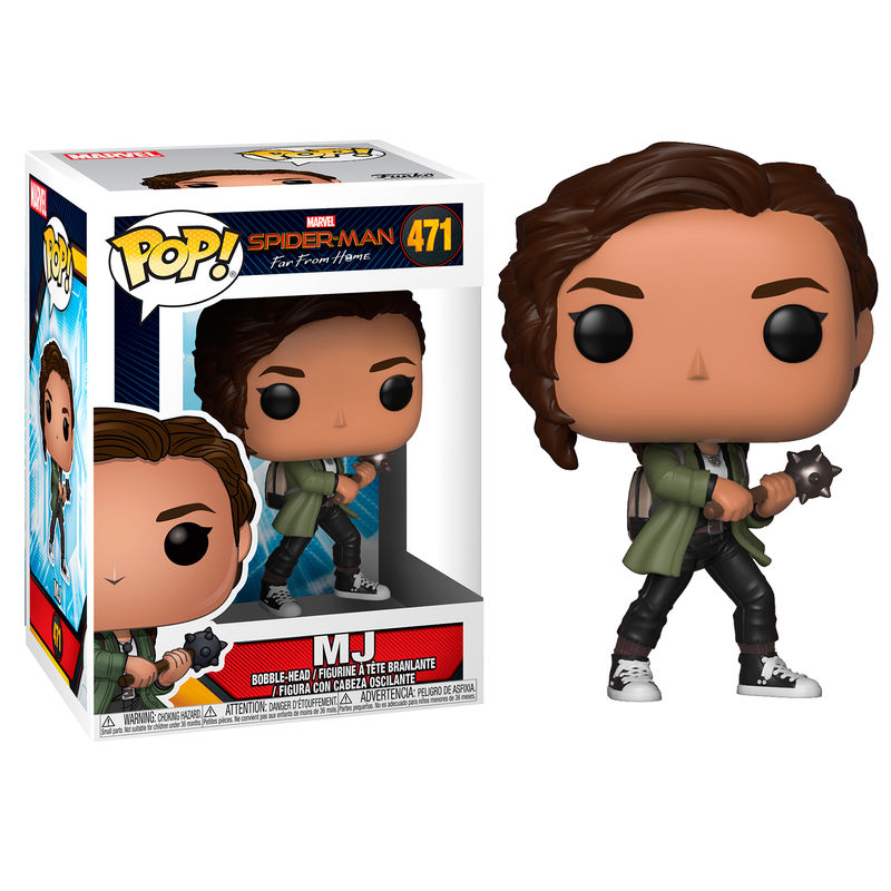 Figura POP Marvel Spiderman Far From Home MJ
