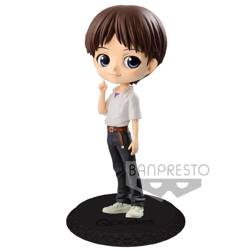 Figura Shinji Ikari Evangelion Movie Q Posket B