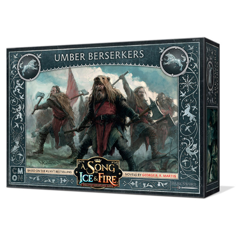 Juego mesa Berserkers Umber Juego de Tronos