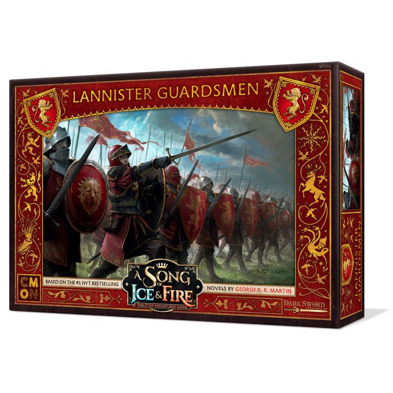 Juego mesa Guardias Lannister Juego de Tronos
