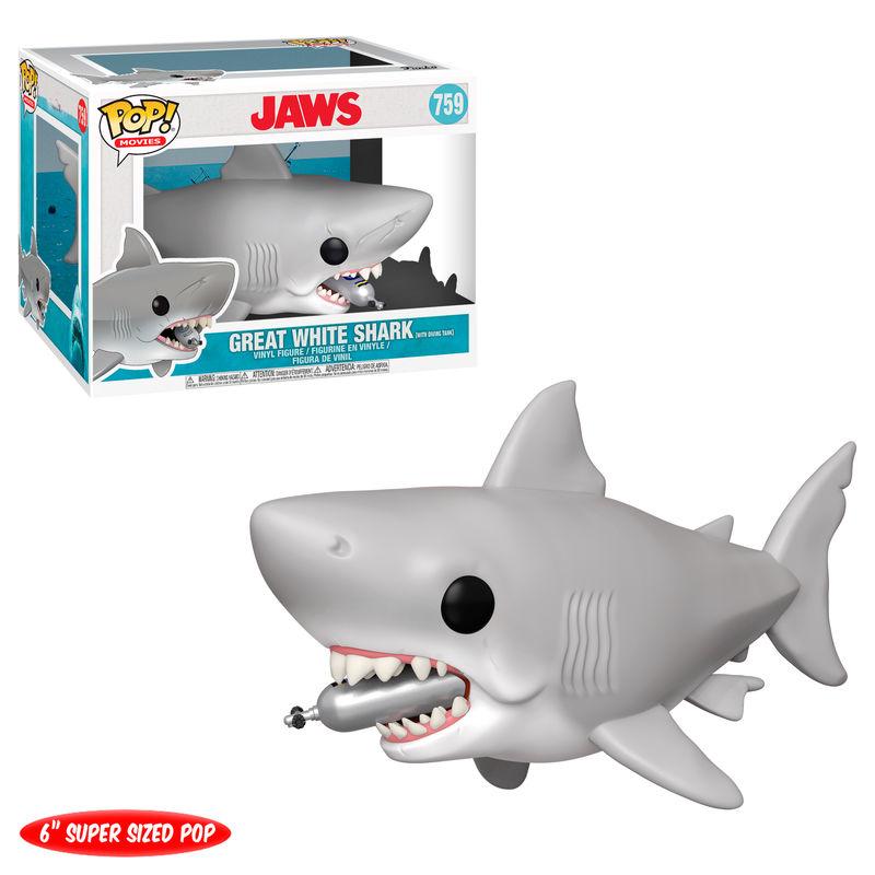 Pre-pedido Funko POP o Figura POP Tiburon Diving tank 15cm