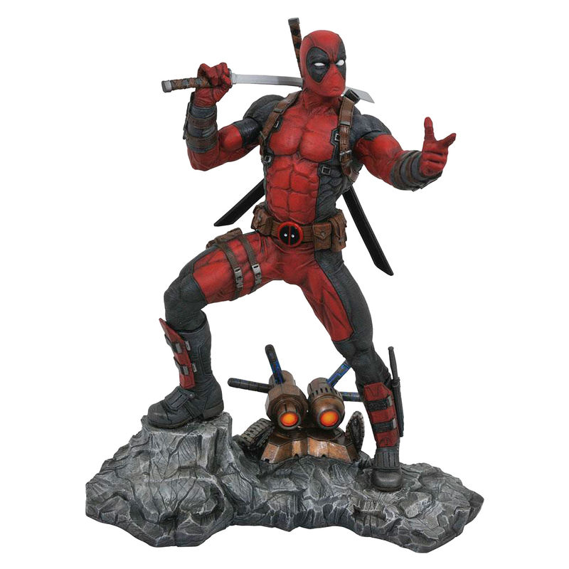Estatua resina Deadpool Marvel Premier Collection 30cm