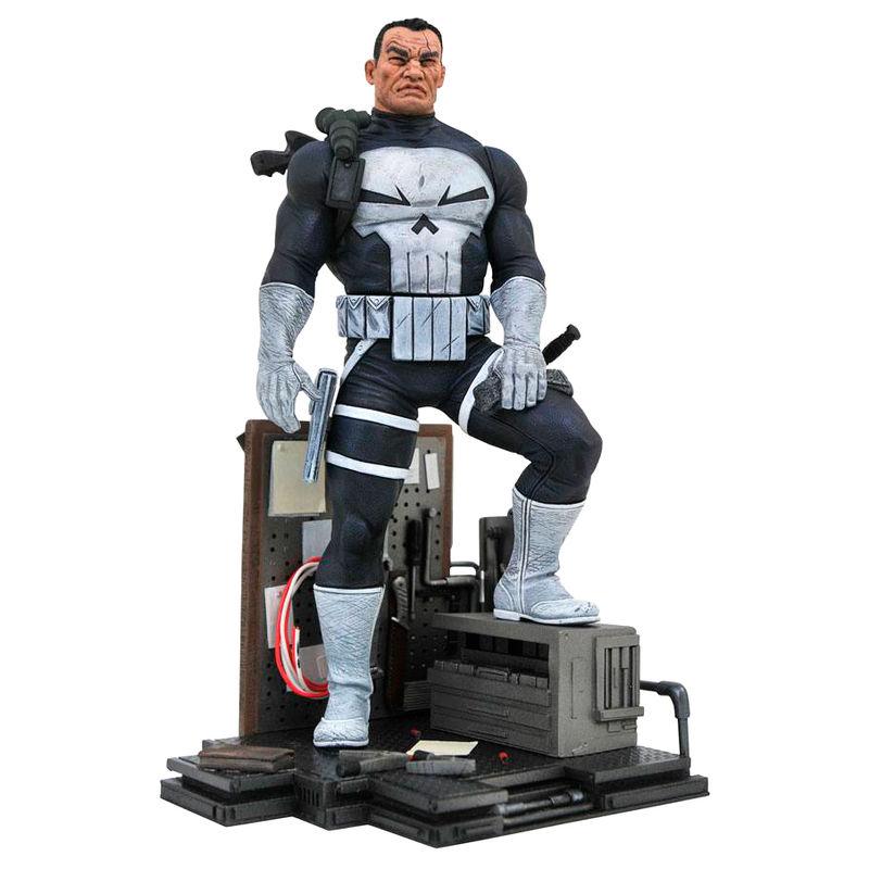 Figura Punisher Diorama Marvel Comic Gallery 23cm 699788829356