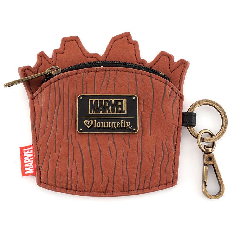 Monedero Groot Guardianes de la Galaxia Marvel Loungefly