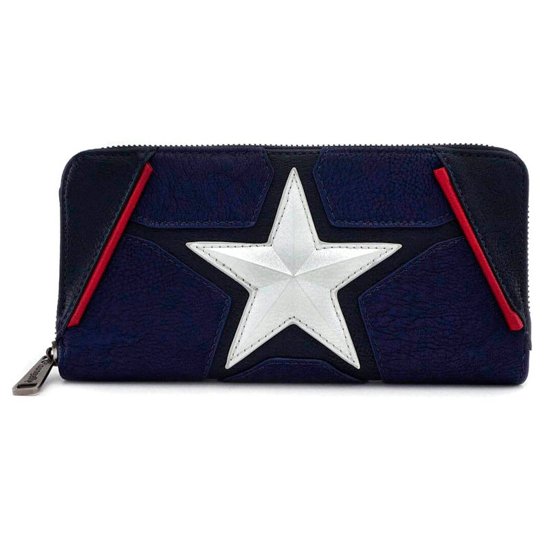 Cartera Capitan America Marvel Loungefly
