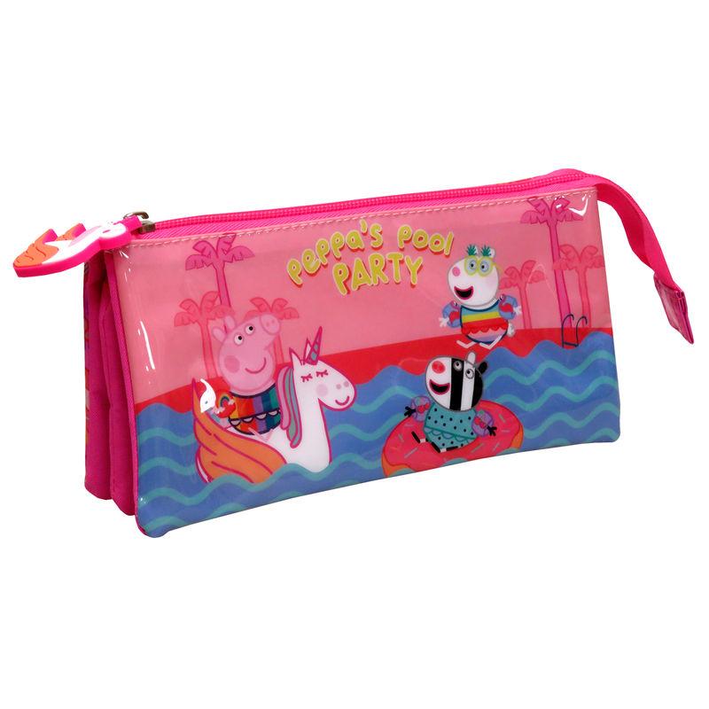 Portatodo Peppa Pig Pool Party triple