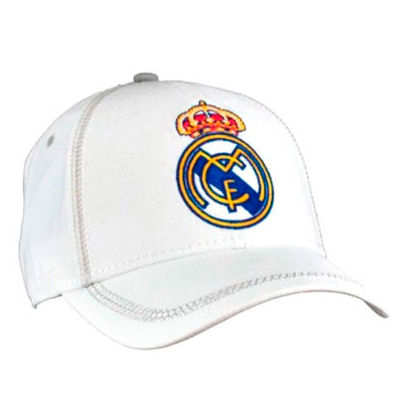 Gorra Real Madrid junior blanco 8435498709616
