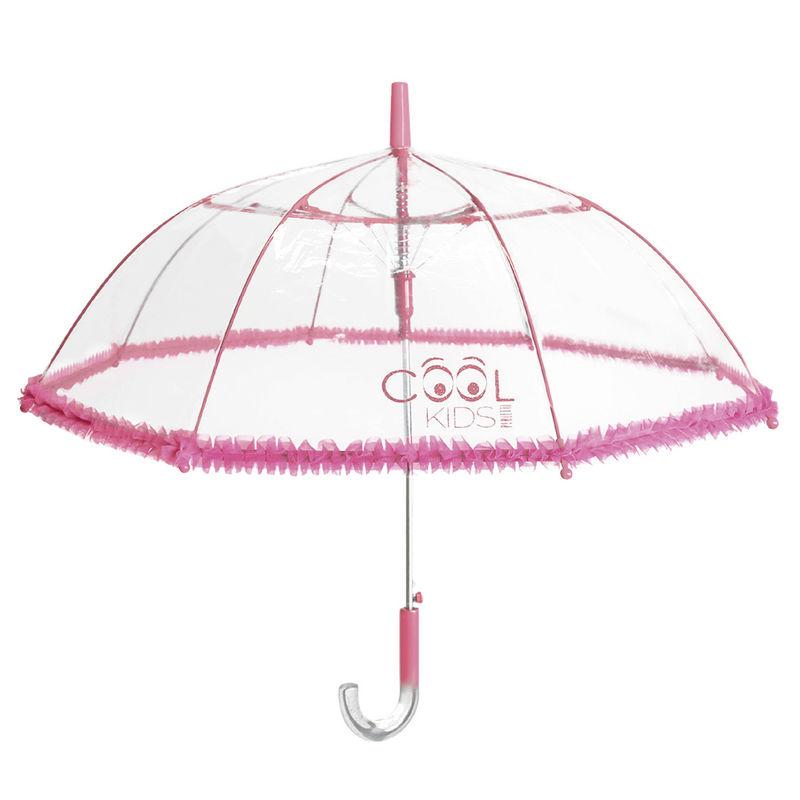 Paraguas automatico cupula POE fucsia 45cm 18015831155491