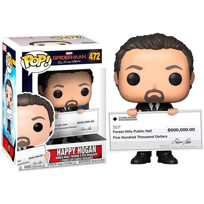 Funko POP o Figura POP Marvel Spiderman Far From Home Happy Hogan