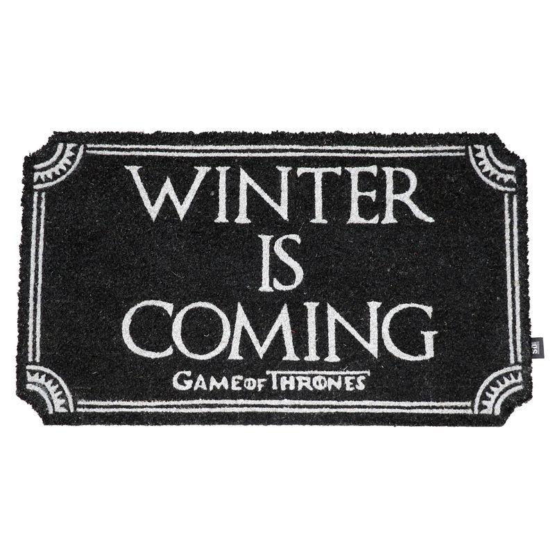 Felpudo Winter is Coming Juego de Tronos