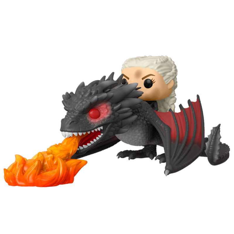 Funko POP o Figura POP Juego de Tronos Daenerys on Fiery Drogon