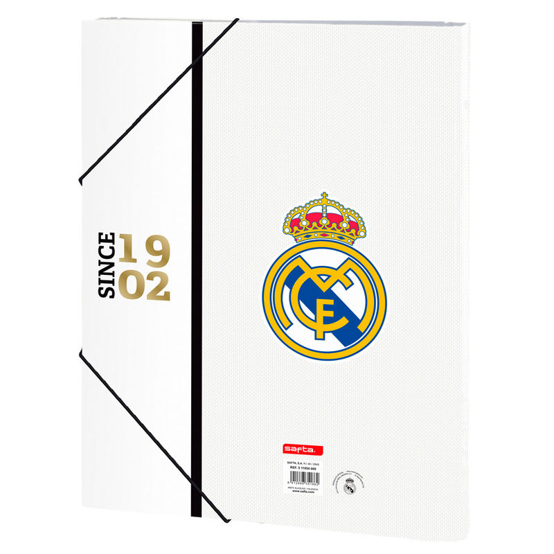 Carpeta A4 Real Madrid clasificadora