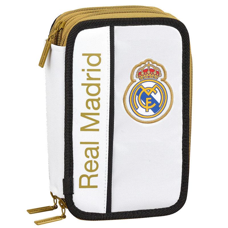 Plumier Real Madrid triple 41pzs