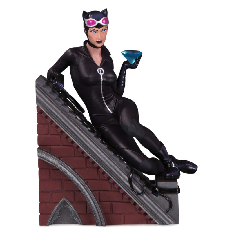 Estatua resina Multi-part Villains Catwoman DC Comics 12cm By Diamond Select