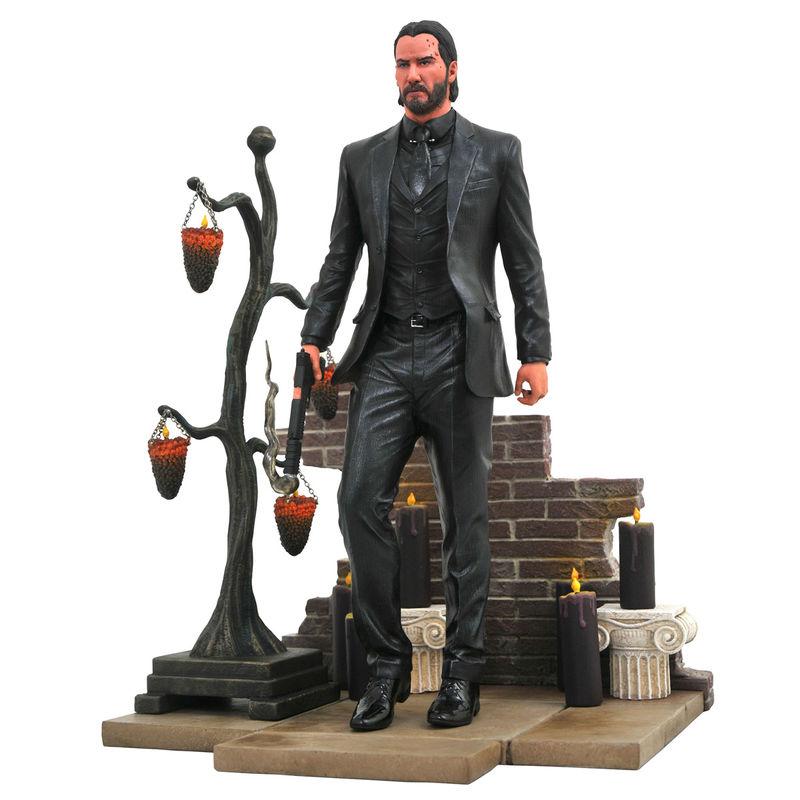 Figura diorama John Wick 2 23cm