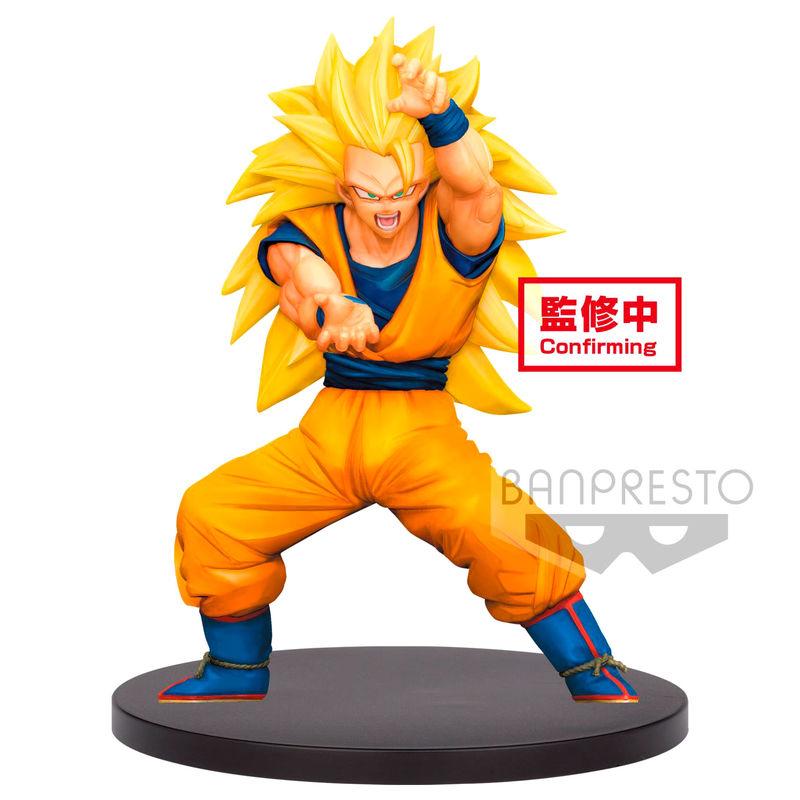 Figura Super Saiyan 3 Son Gokou Dragon Ball Super Chosenshiretsuden vol. 4 16cm 4983164198997