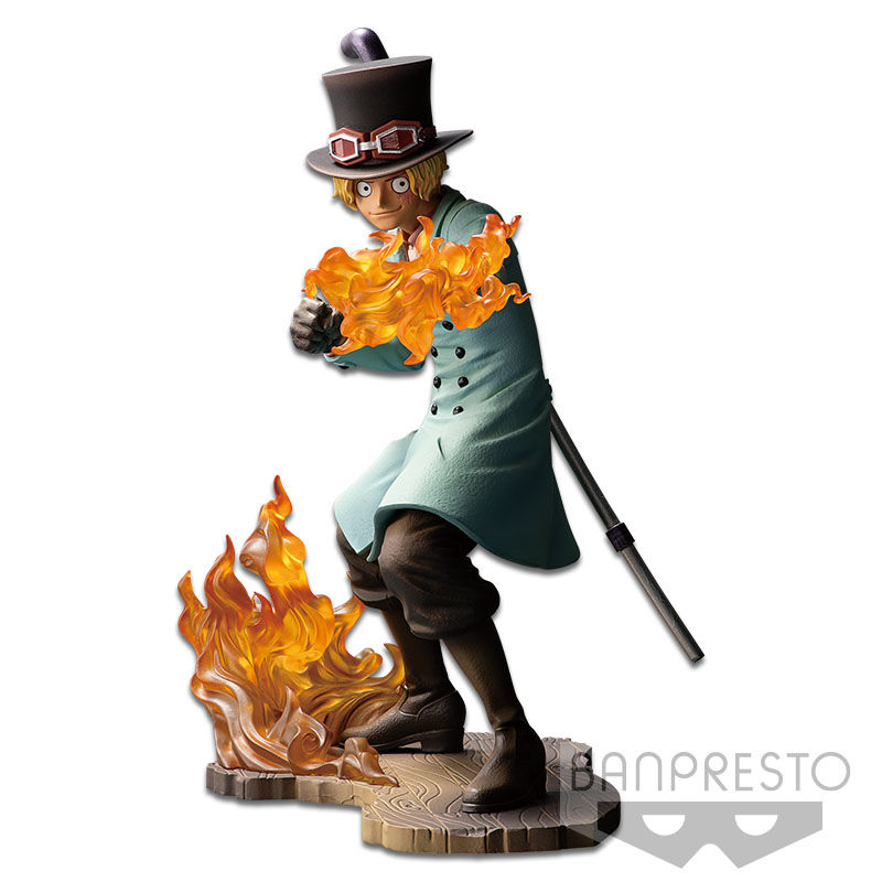 Figura Posing Series Sabo One Piece Stampede 15cm