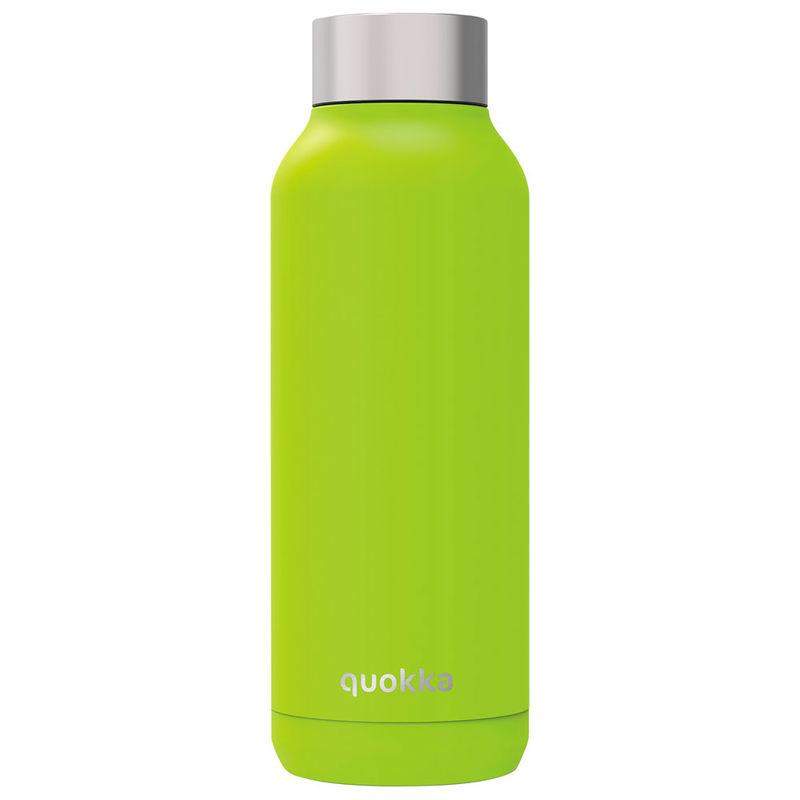 Botella Solid Bright Green Quokka 510ml 8412497118281