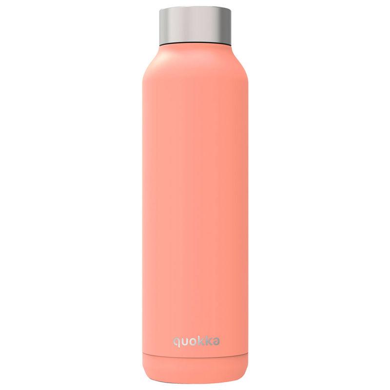 Botella Solid Pastel Orange Quokka 630ml 8412497118175