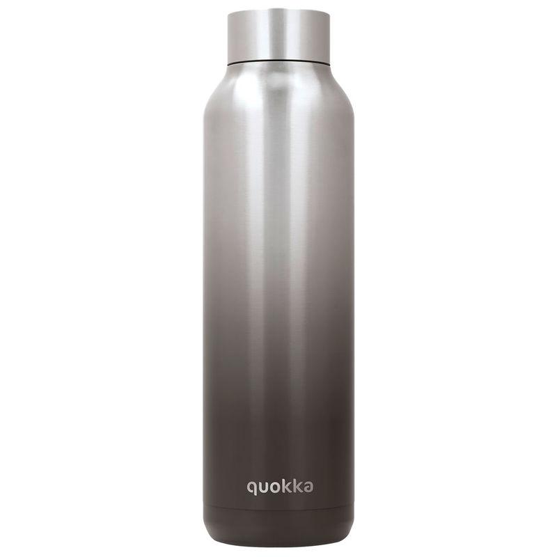 Botella Solid Black Steel Quokka 630ml 8412497118038