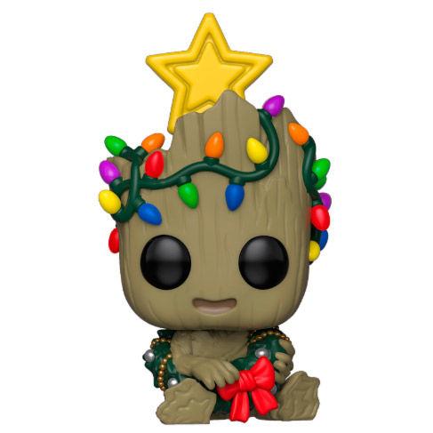 Funko POP o Figura POP Marvel Groot Navidad