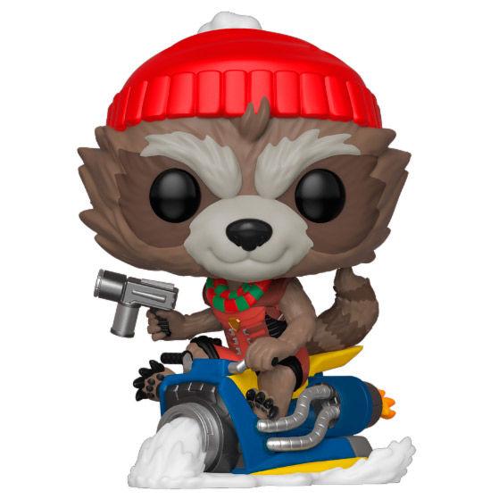 Funko POP o Figura POP Marvel Rocket Navidad