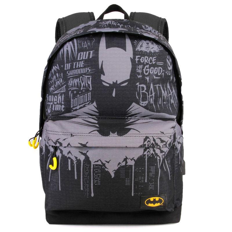 Mochila Batman Gotham DC Comics adaptable 42cm 8435376389534