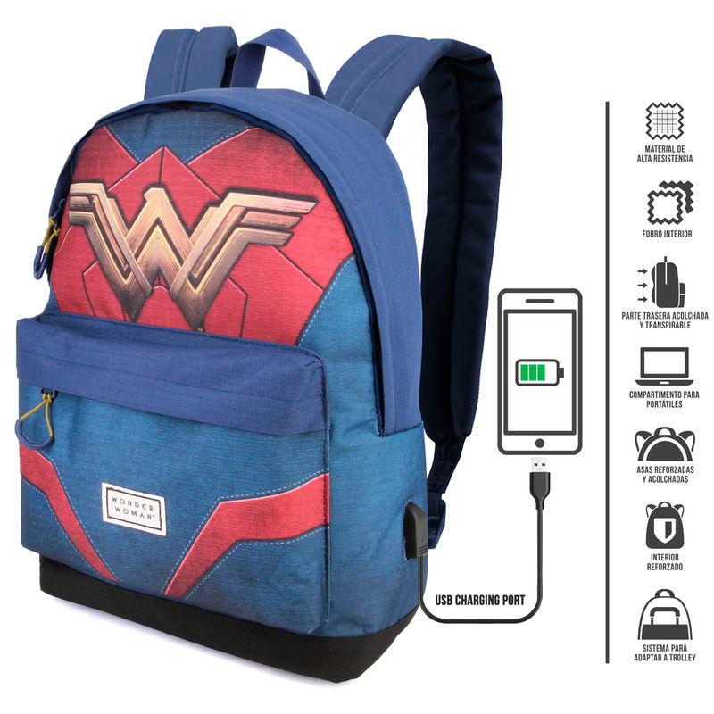 Mochila Wonder Woman DC Comics 42cm
