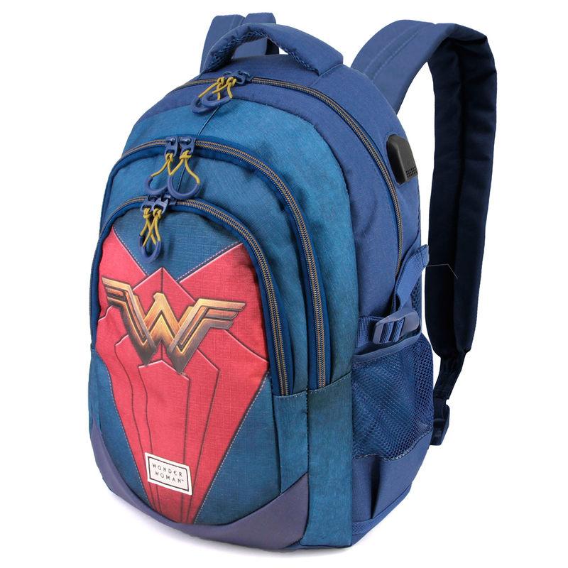 Mochila Wonder Woman DC Comics 44cm 8435376391742