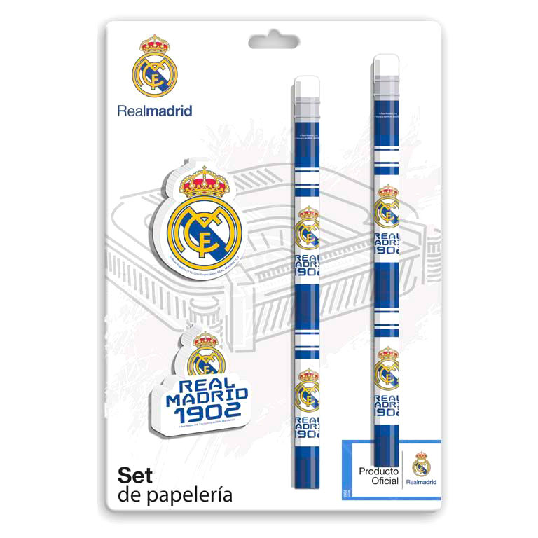 Set papeleria Real Madrid 8426842078090