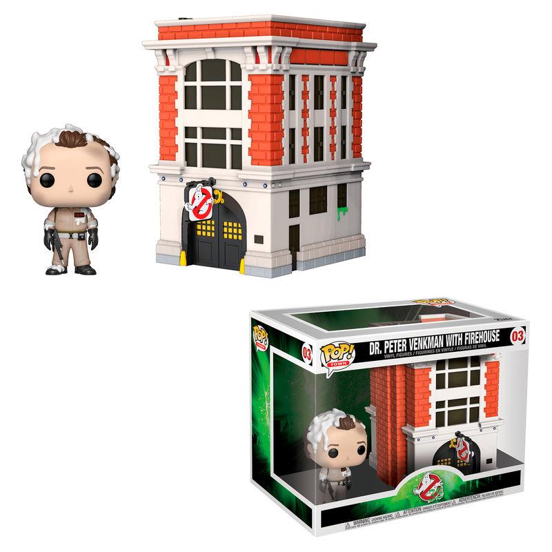 Funko POP o Figura POP Town Zazafantasmas Peter with House