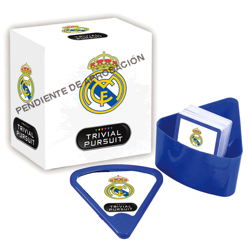 Juego Trivial Pursuit Bite Real Madrid