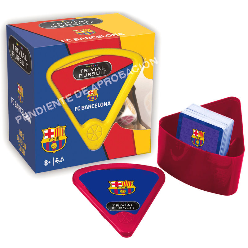 Juego Trivial Pursuit Bite F.C Barcelona