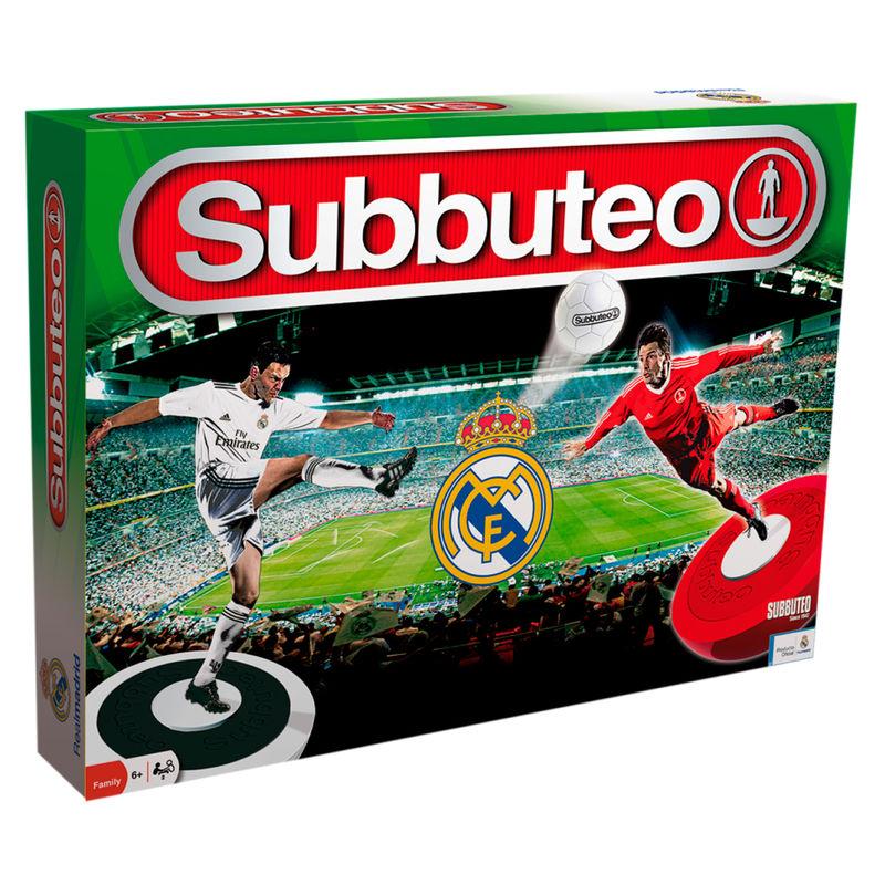 Juego de Mesa Subbuteo playset Real Madrid